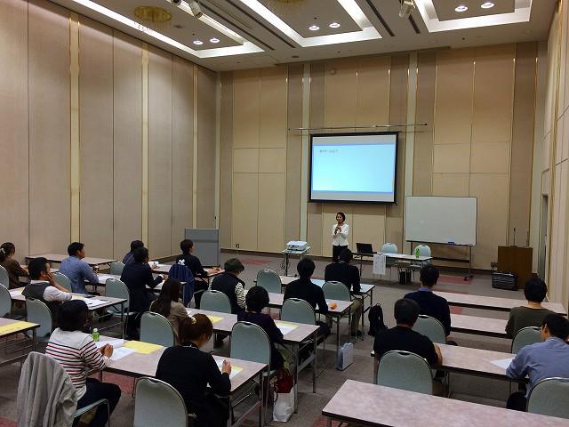 堺商工会議所で『販促実践塾』を行いました
